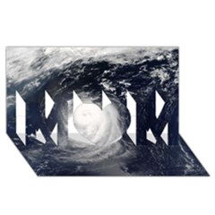 Hurricane Irene Mom 3d Greeting Card (8x4)