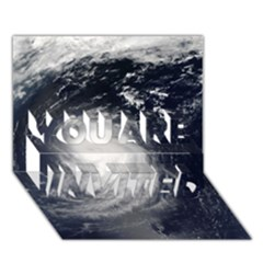 HURRICANE IRENE YOU ARE INVITED 3D Greeting Card (7x5)