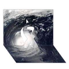 HURRICANE IRENE Ribbon 3D Greeting Card (7x5)