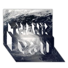 HURRICANE IRENE THANK YOU 3D Greeting Card (7x5)