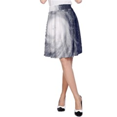 Hurricane Irene A Line Skirt