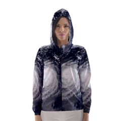 Hurricane Irene Hooded Wind Breaker (women)