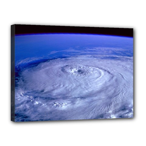 HURRICANE ELENA Canvas 16  x 12
