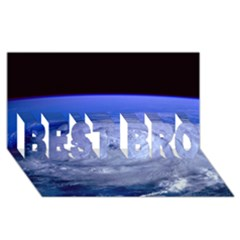 Hurricane Elena Best Bro 3d Greeting Card (8x4)