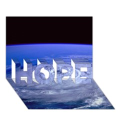 HURRICANE ELENA HOPE 3D Greeting Card (7x5)