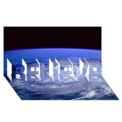 HURRICANE ELENA BELIEVE 3D Greeting Card (8x4)