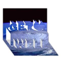 Hurricane Elena Get Well 3d Greeting Card (7x5)