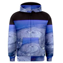 Hurricane Elena Men s Zipper Hoodies