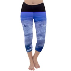Hurricane Elena Capri Winter Leggings