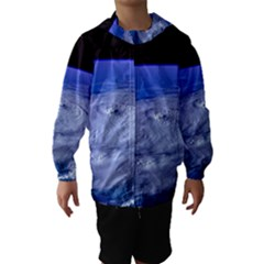 HURRICANE ELENA Hooded Wind Breaker (Kids)