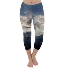 Heaven Rays Capri Winter Leggings