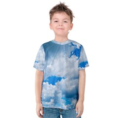 CUMULUS CLOUDS Kid s Cotton Tee