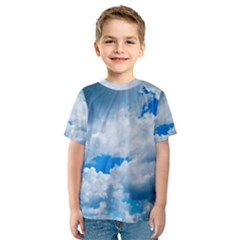 CUMULUS CLOUDS Kid s Sport Mesh Tees