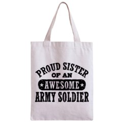 Proud Army Soldier Sister Classic Tote Bags