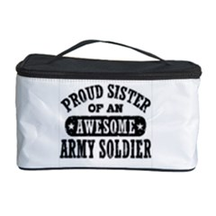 Proud Army Soldier Sister Cosmetic Storage Case