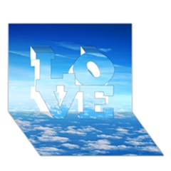 Clouds Love 3d Greeting Card (7x5)