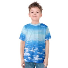 Clouds Kid s Cotton Tee