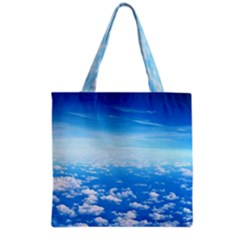Clouds Grocery Tote Bags