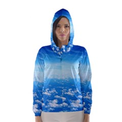 CLOUDS Hooded Wind Breaker (Women)