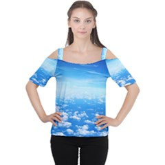 Women s Cutout Shoulder Tee