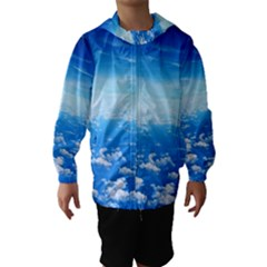 Clouds Hooded Wind Breaker (kids)