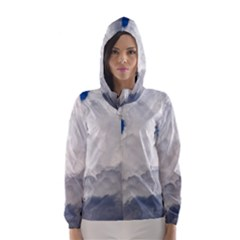 Big Fluffy Cloud Hooded Wind Breaker (women)