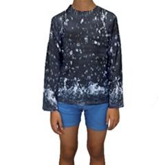 AUTUMN RAIN Kid s Long Sleeve Swimwear