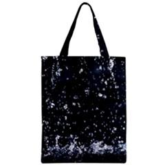 Autumn Rain Zipper Classic Tote Bags