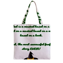 Wicked Fanfiction Zipper Grocery Tote Bags