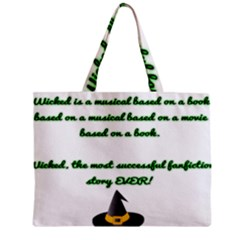 Wicked Fanfiction Zipper Tiny Tote Bags