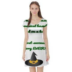 Wicked Fanfiction Short Sleeve Skater Dresses