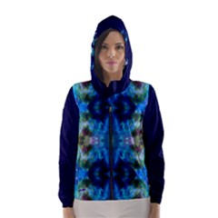 Mocking Of Chance By Saprillika Hooded Wind Breaker (women)