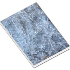 Watery Ice Sheets Large Memo Pads