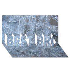 WATERY ICE SHEETS BEST BRO 3D Greeting Card (8x4)