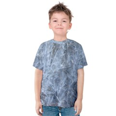Watery Ice Sheets Kid s Cotton Tee