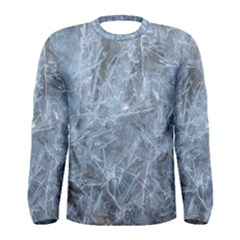 WATERY ICE SHEETS Men s Long Sleeve T-shirts