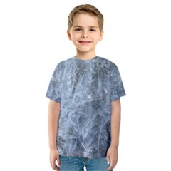 WATERY ICE SHEETS Kid s Sport Mesh Tees