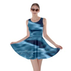 WATER RIPPLES 1 Skater Dresses