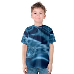 WATER RIPPLES 1 Kid s Cotton Tee