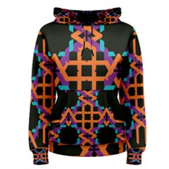Juxtaposed shapes Women s Pullover Hoodie