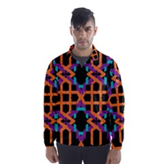 Juxtaposed Shapes Wind Breaker (men)