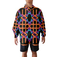 Juxtaposed Shapes Wind Breaker (kids)