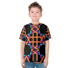 Juxtaposed Shapes Kid s Cotton Tee