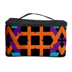 Juxtaposed shapes Cosmetic Storage Case