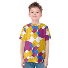 Layered shapes Kid s Cotton Tee