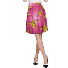 Star Burst A Line Skirt