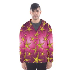 Star Burst Hooded Wind Breaker (Men)