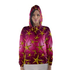 Star Burst Hooded Wind Breaker (Women)
