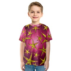 Star Burst Kid s Sport Mesh Tees