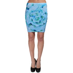 Blue Flower Bodycon Skirts